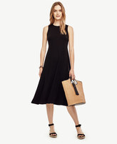 Ann Taylor Petite Swaying Midi Dress
