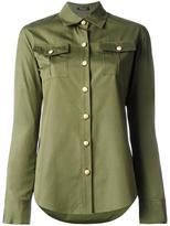 Balmain classic poplin shirt - women - Cotton - 40