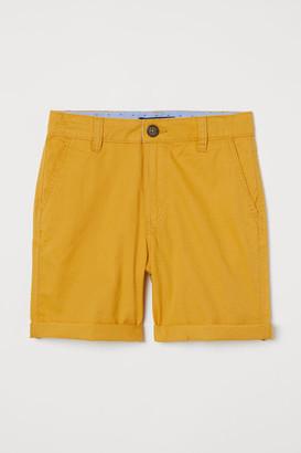 H&M Chino Shorts - Yellow