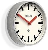 Newgate Galvanised Steel Luggage Wall Clock With Red Hands