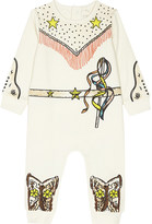 Stella McCartney Dewberry cotton baby-grow 3-9 months