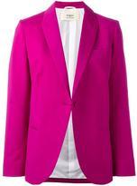 Ports 1961 single breasted jacket - women - Silk/Cotton/Viscose/Wool - 38