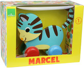 Vilac Marcel the cat wooden pull along toy