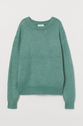 H&M Fine-knit Wool-blend Sweater