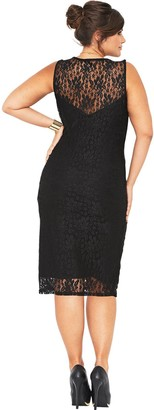 V By Very Curve Lace Midi Dress (Available in sizes 16-28)