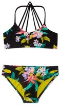 Gossip Girl Girl's 'Paradiso' Print Two-Piece Swimsuit