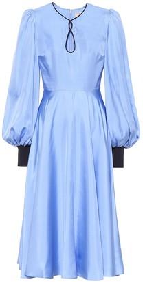 Roksanda Herona silk midi dress