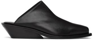 Ann Demeulemeester Black Crust Loafers