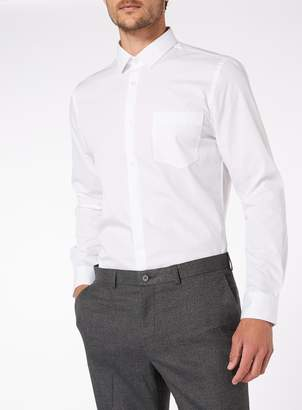 Tu White Slim Fit Shirts 2 Pack