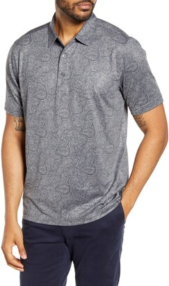 Cutter & Buck Forge DryTec Paisley Performance Polo
