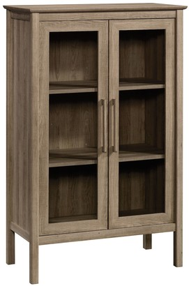 Sauder Anda Norr Display Storage Cabinet