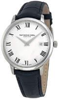 Raymond Weil Men Leather Watch