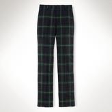 Flat-Front Wool Woodsman Pant