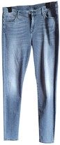 7 For All Mankind Grey Cotton - elasthane Jeans for Women