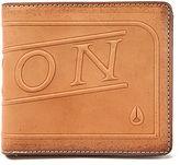Nixon The Labelled Bi-Fold Zip Wallet in Saddle