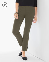 Chico's Juliet Ankle Pants in Grape Leaf