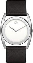 Danish Design Women's 34mm Black Patent Leather Band Steel Case Quartz Dial Analog Watch IV12Q926