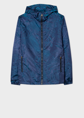 Men's Blue 'Chile' Hooded Jacket