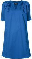 Derek Lam v-neck dress - women - Cotton/Elastodiene - 36