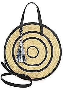 Rebecca Minkoff Women's Straw Circle Tote