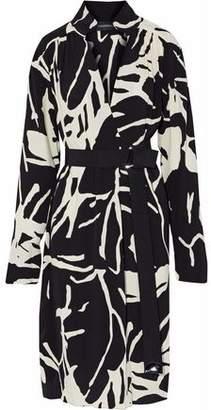 By Malene Birger Printed Crepe Dress