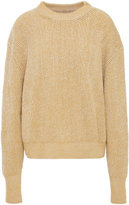 MM6 MAISON MARGIELA Ribbed Wool-blend Sweater