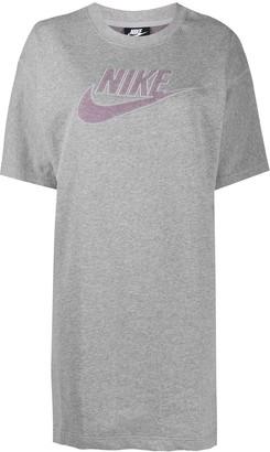 Nike terry-cloth logo T-shirt dress