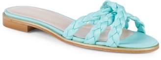Aperlaï Braided Slip-On Sandals