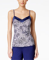 Alfani Satin-Trim Pajama Tank Top, Only at Macy's