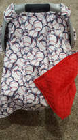 Etsy Baby Carseat Tent -Baseball Carseat Canopy, Tent, Sports, Touchdown