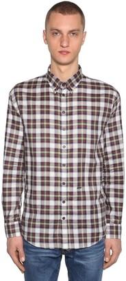 DSQUARED2 Check Cotton Shirt