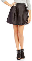 I.N. San Francisco Taffeta Short Skirt