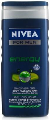 Nivea Men Shower Gel Energy 250Ml