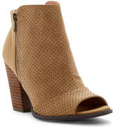Restricted Windsor Perforated Peep Toe Bootie