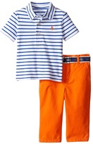 Ralph Lauren Feather Weight Mesh Preppy Pants Set Boy's Active Sets
