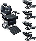 TMS 5 PCS Reclining Hydraulic Barber Chair Shampoo Salon Beauty Spa Hair Styling