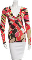 Emilio Pucci Signature Print Long Sleeve Top