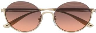 Bvlgari Round Frame Sunglasses