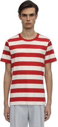 Marni 3 Pack Striped Cotton Jersey T-shirts