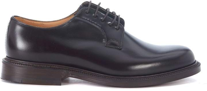 Church's Shannon Light Ebony Leather Lace Up