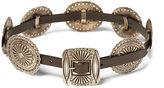 Polo Ralph Lauren Leather Concho Belt