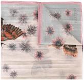 Valentino Garavani Valentino butterfly print scarf - women - Silk/Cotton - One Size