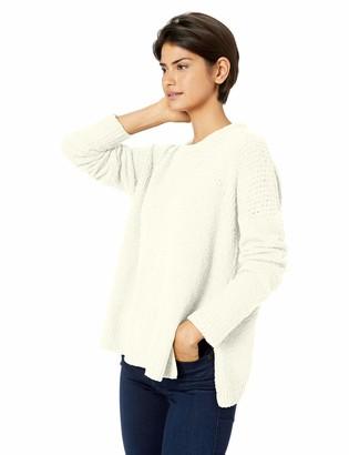 Cupcakes And Cashmere Women's Kirk Drop Needle Sweatheart Neckline Sweater