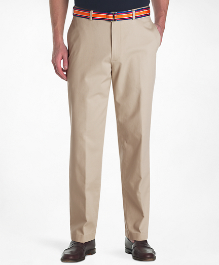 Brooks Brothers Milano Fit Plain-Front Lightweight Advantage Chinos®