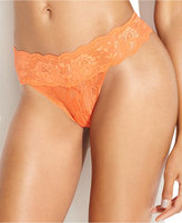 Cosabella Never Say Never Bootie Mid-Rise Thong NEVER03ZBOW