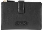 Radley Tetbury Medium Leather Tab Purse, Black
