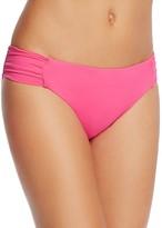 Trina Turk Ruched Hipster Bikini Bottom