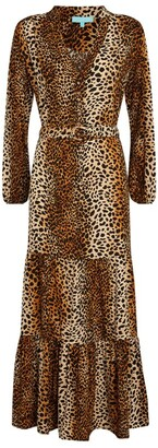 Melissa Odabash Leopard Print Maxi Dress