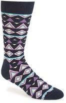 Happy Socks Temple Cotton Blend Socks (3 for $30)