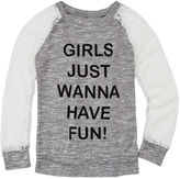 Miss Chievous Miss Chevious Long-Sleeve Fashion Top - Girls 7-16